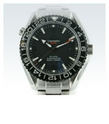 Omega Seamaster Planet Ocean 600 M Co-Axial GMT 43.5mm