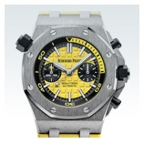 Audemars Piguet Royal Oak Offshore Diver Chrono gelb